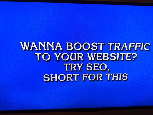 Jeopardy SEO