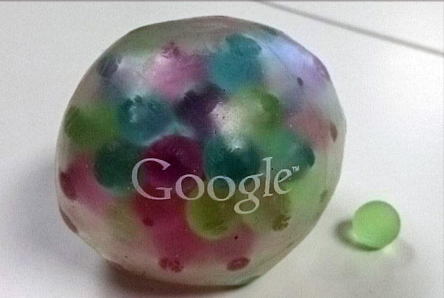 Deformed Google Ball Swag