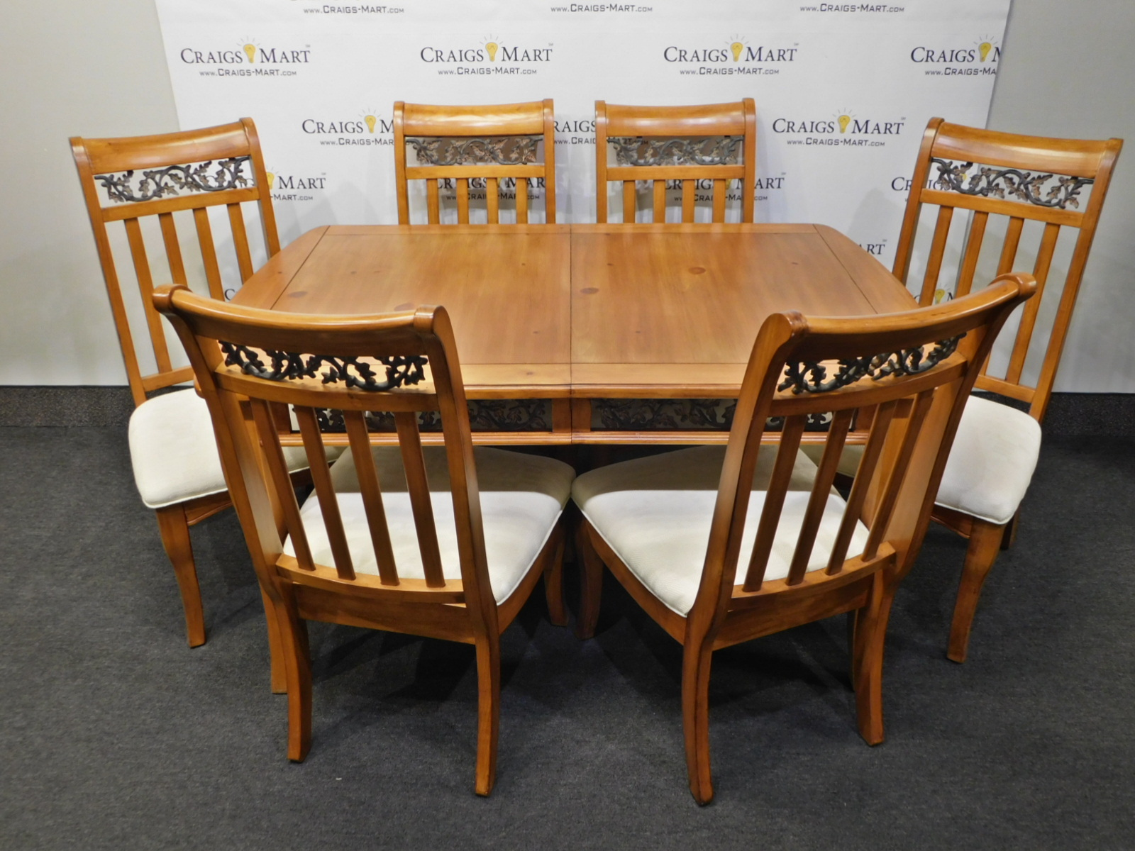 Dining Table 8 Chairs Dining Table With 8 Chairs And Leaf