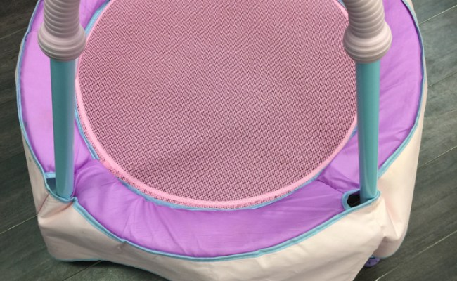 Diggin Hop Mini Toddler Trampoline With Handle Eci Stores