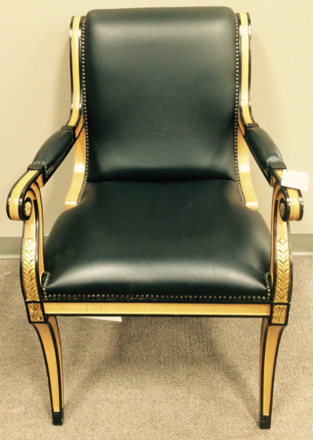 drexel heritage chairs recliner vs chair with ottoman arm consign to design black 56424a jpg