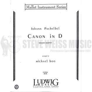 Canon in D by Johann Pachelbel arranged by Michael Boo
