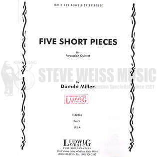 Five Short Pieces for Percussion Quintet by Donald Miller