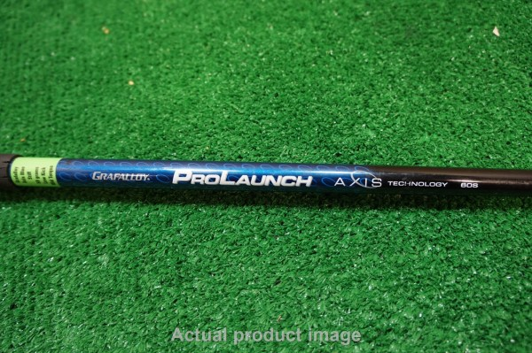 Grafalloy Prolaunch Axis Blue 60g Stiff Driver Shaft