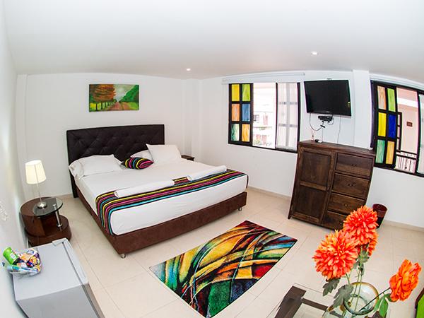 Habitacin Junior Suite en Hotel Vanguardia Real