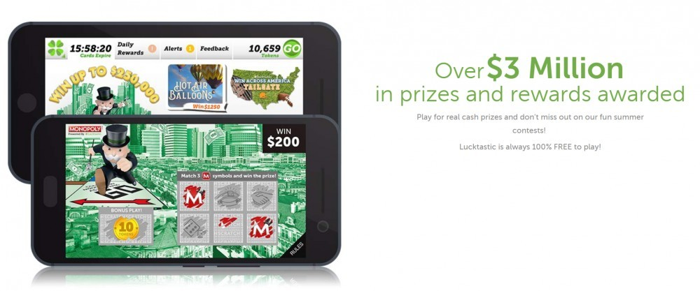 Lucktastic: Free Digital Scratch-Off Cards – My Honest Review