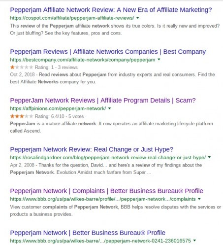 pepperjam network reviews