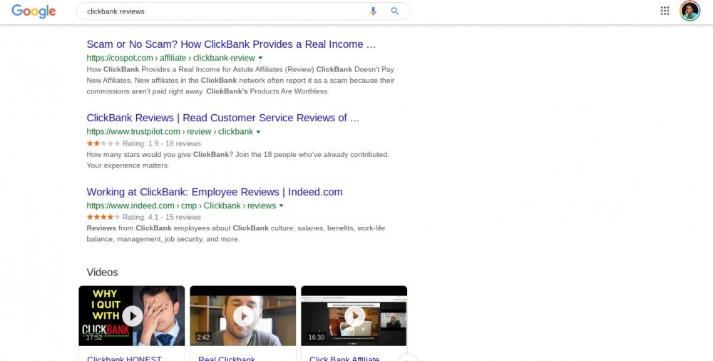 clickbank affiliate network reviews
