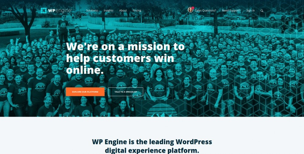 wp engine vs. wealthy affiliate review