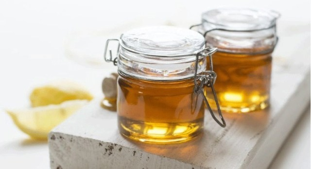 golden jars of honey