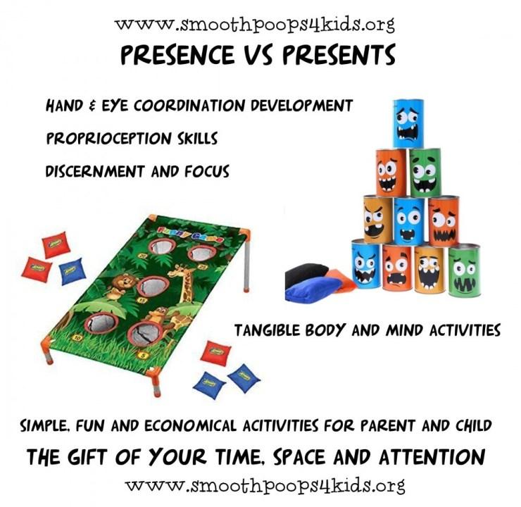 presence versus presents in parenting