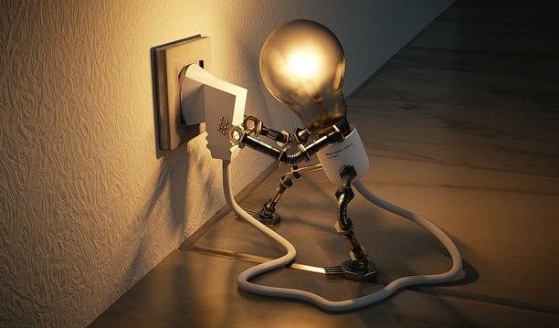 Turn your light on inside