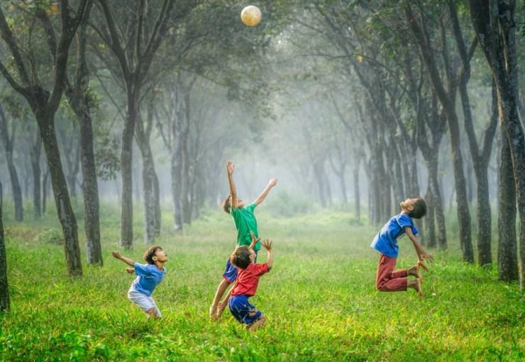 Joy in kids