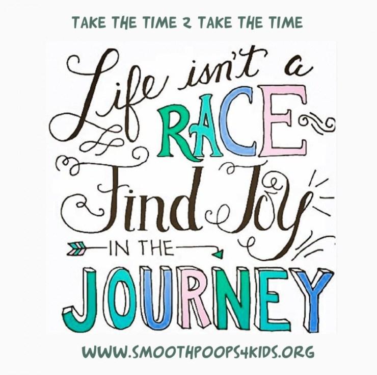 take the time to take the time