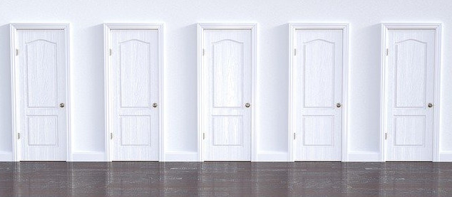 Choice points of the door