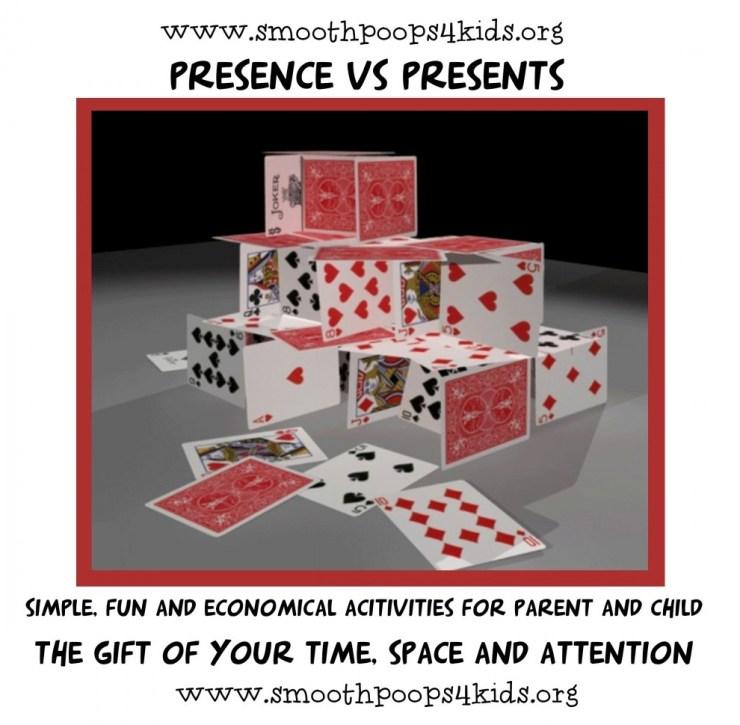 fun card house builds