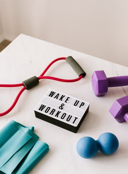 Wake up and workout thrive
