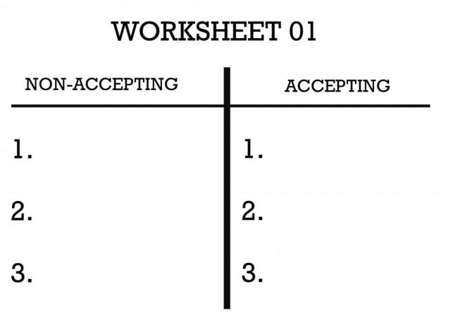 The worksheet vibration