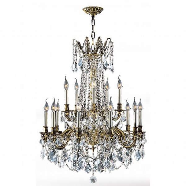 crystal chandelier tiered # 76