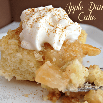 Image for Mom's Apple Cake {Apple Dump Cake}