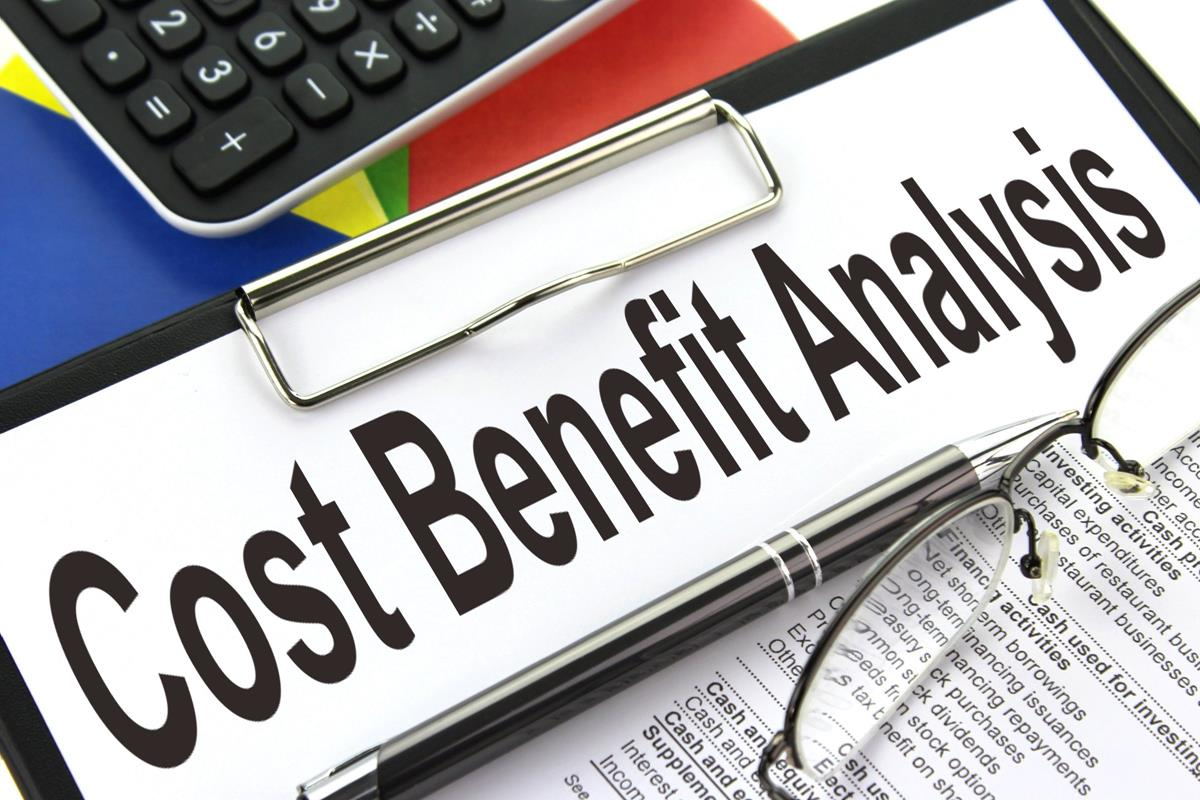 Cost Benefitysis Example Amp Free Download