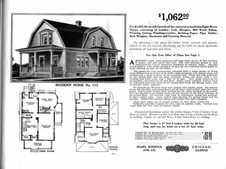 This House Was Bought from a Sears Catalog in 1916