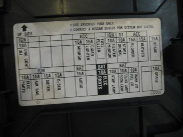 2003 Nissan 350z LH KickFuse Panel in Avon, MN 56310 PB#21520
