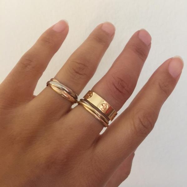 Cartier love ring  Teurer Schmuck