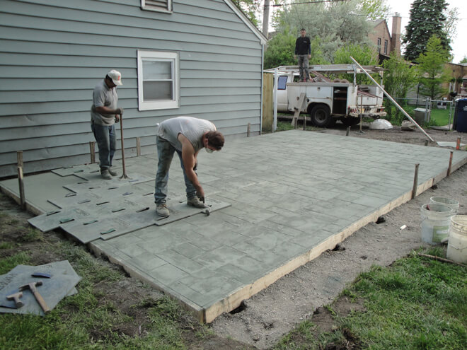 cost to install a concrete patio