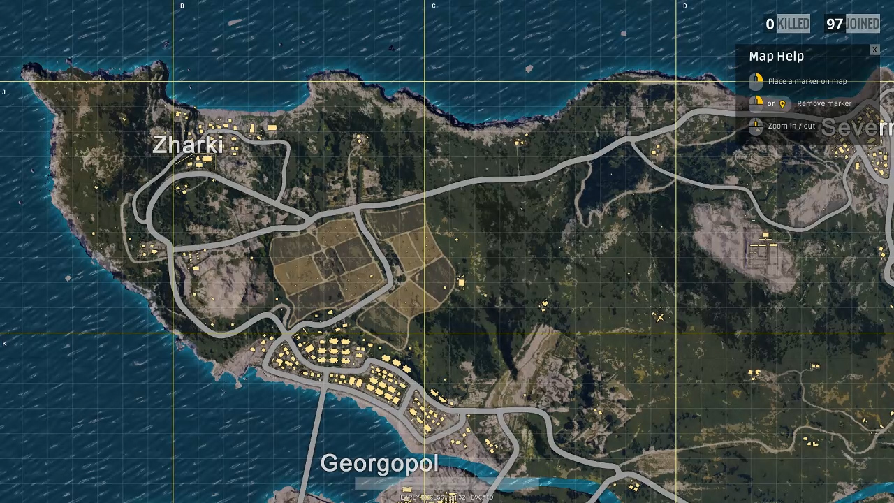 Map And All Locations In PlayerUnknowns Battlegrounds Indie Obscura