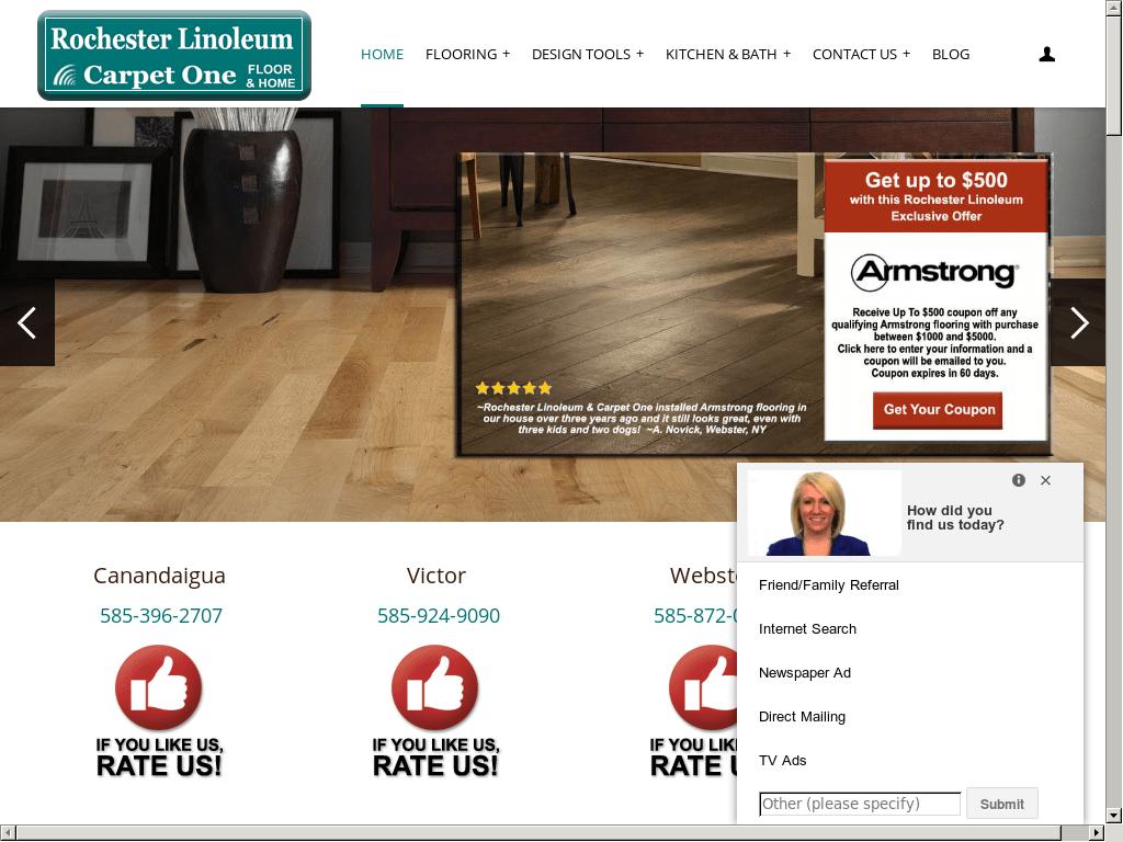 Rochester Linoleum And Carpet One Competitors, Revenue and