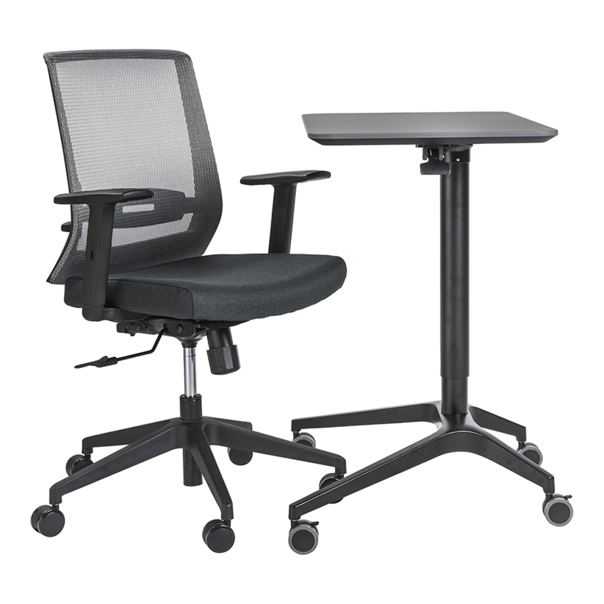 How To Adjust Office Chair Herning Height Adjust Desk