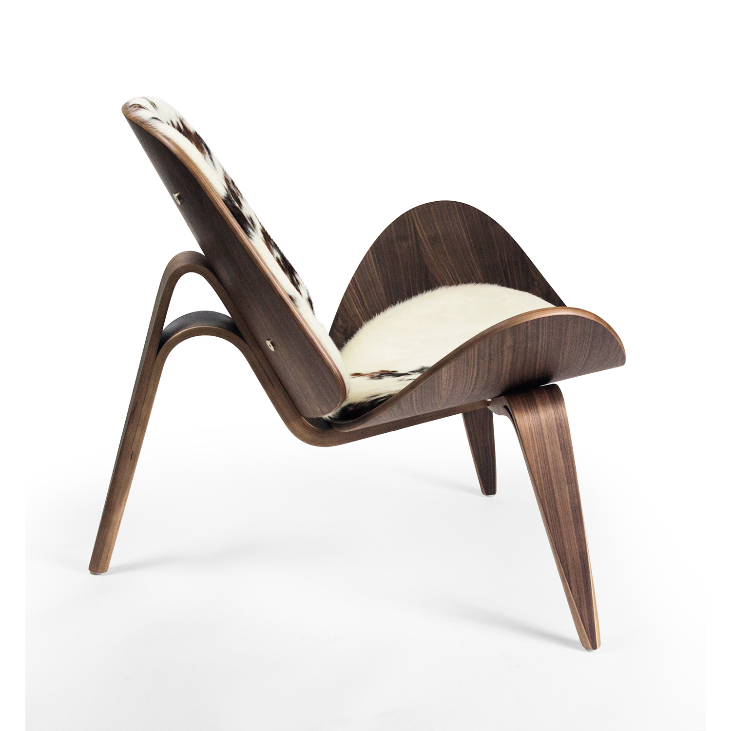 shell chair replica outside tables and chairs argos hans wegner