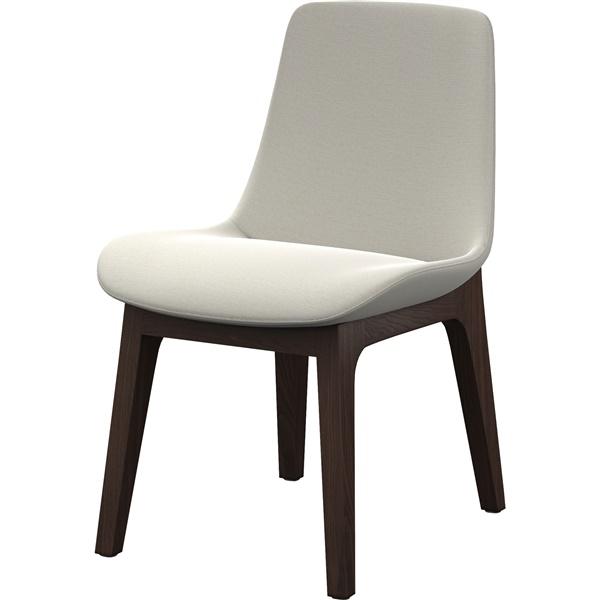 modloft dining chair white hammock mercer silver birch
