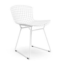 Modern Metal Chairs Slipcovers For Parson Dining Bertoia Side Chair