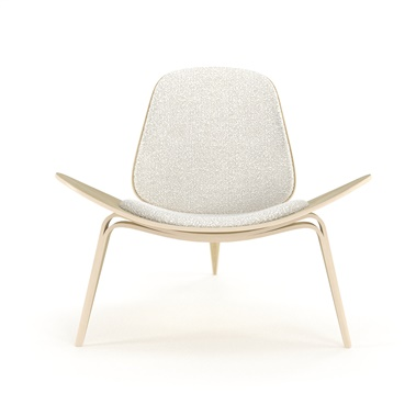 contemporary lounge chairs stability ball for desk chair modern arm hans wegner shell