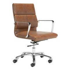 Unique Leather Office Chairs Fold Out Chair Modern Ithaca