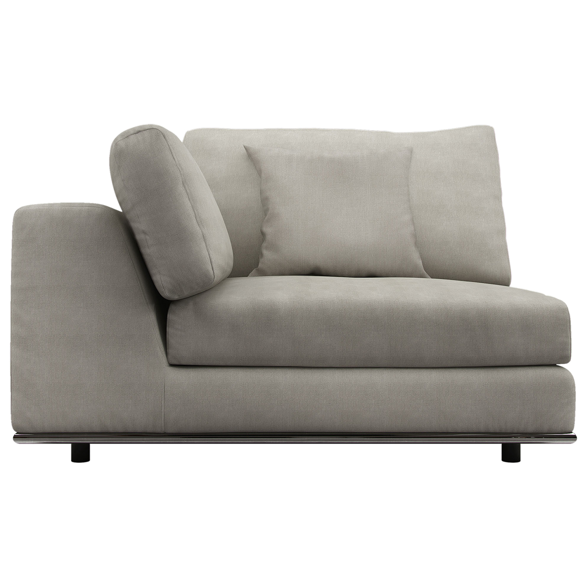 one arm sofa sectional sofas reviews perry 1 module