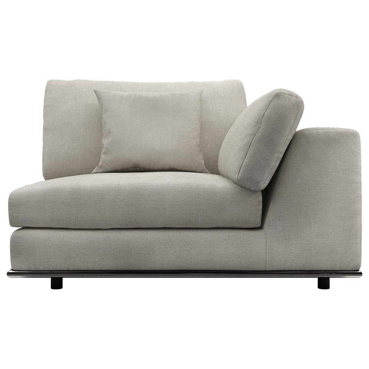 one arm sofa natuzzi corner sofas uk perry 1 module