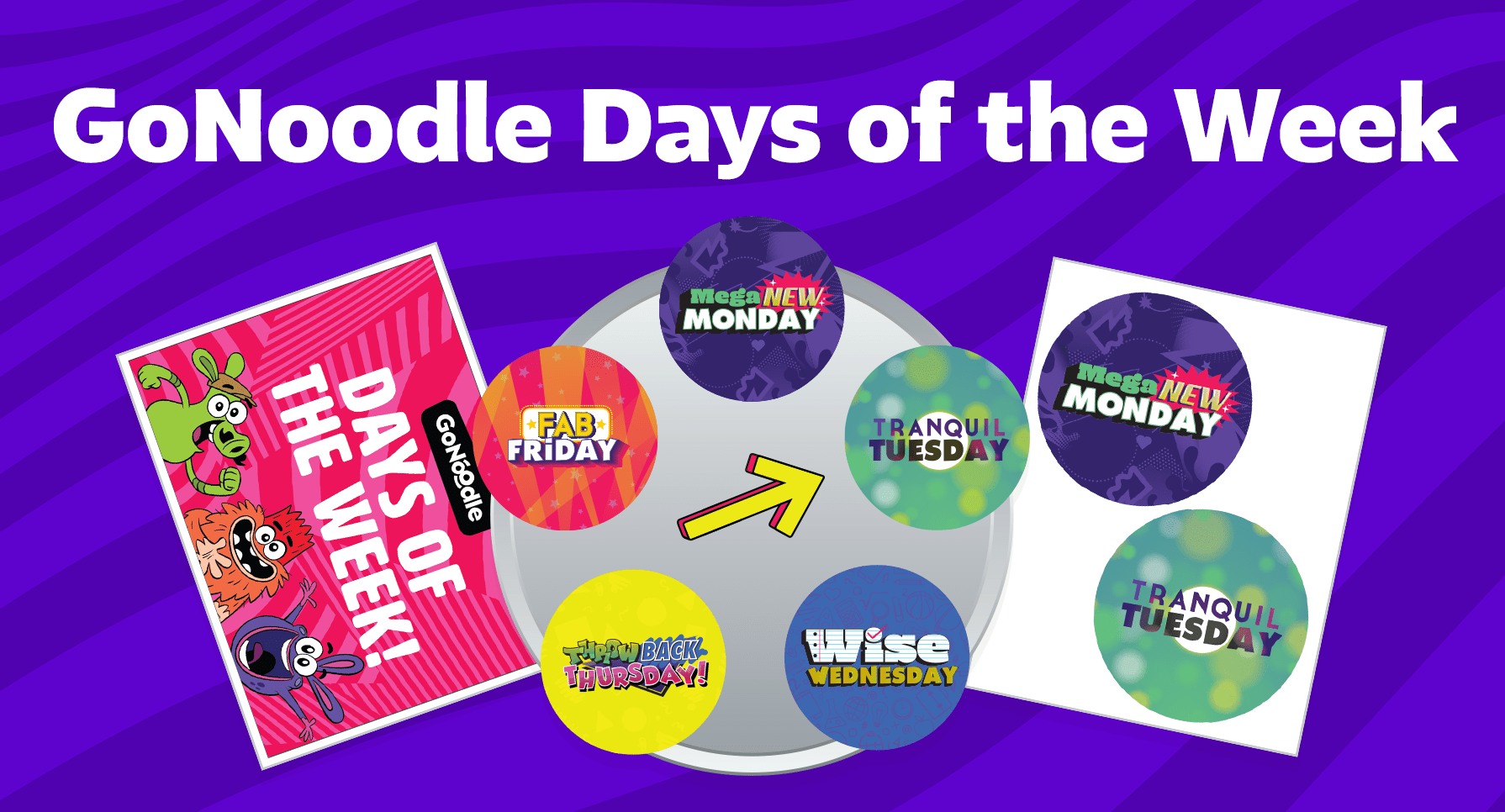 download gonoodle days of