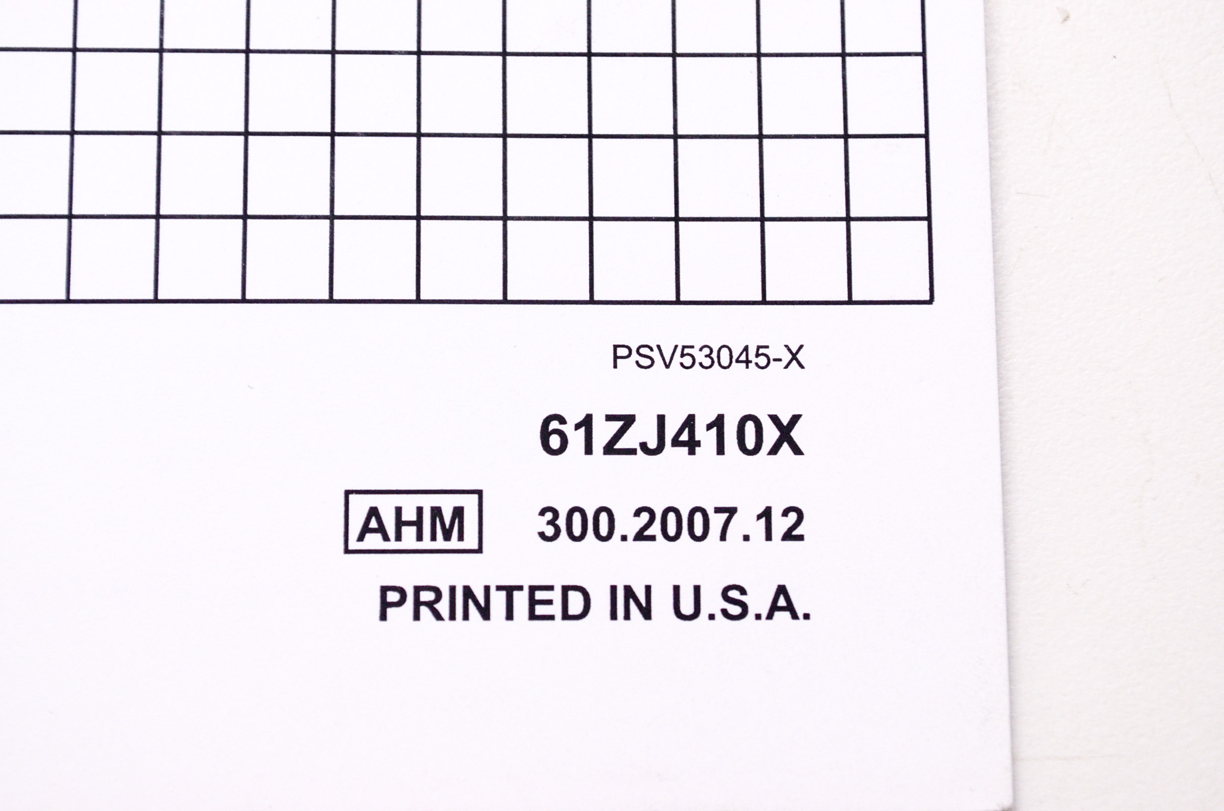 OEM Honda 61ZJ410X Engines Service Shop Manual GX610U
