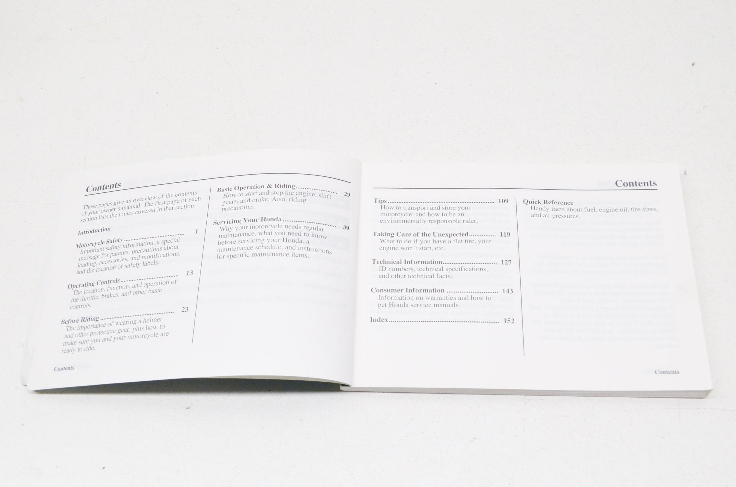 OEM Honda 31GCF730, 00X31-GCF-7300 Owner's Manual CRF70F