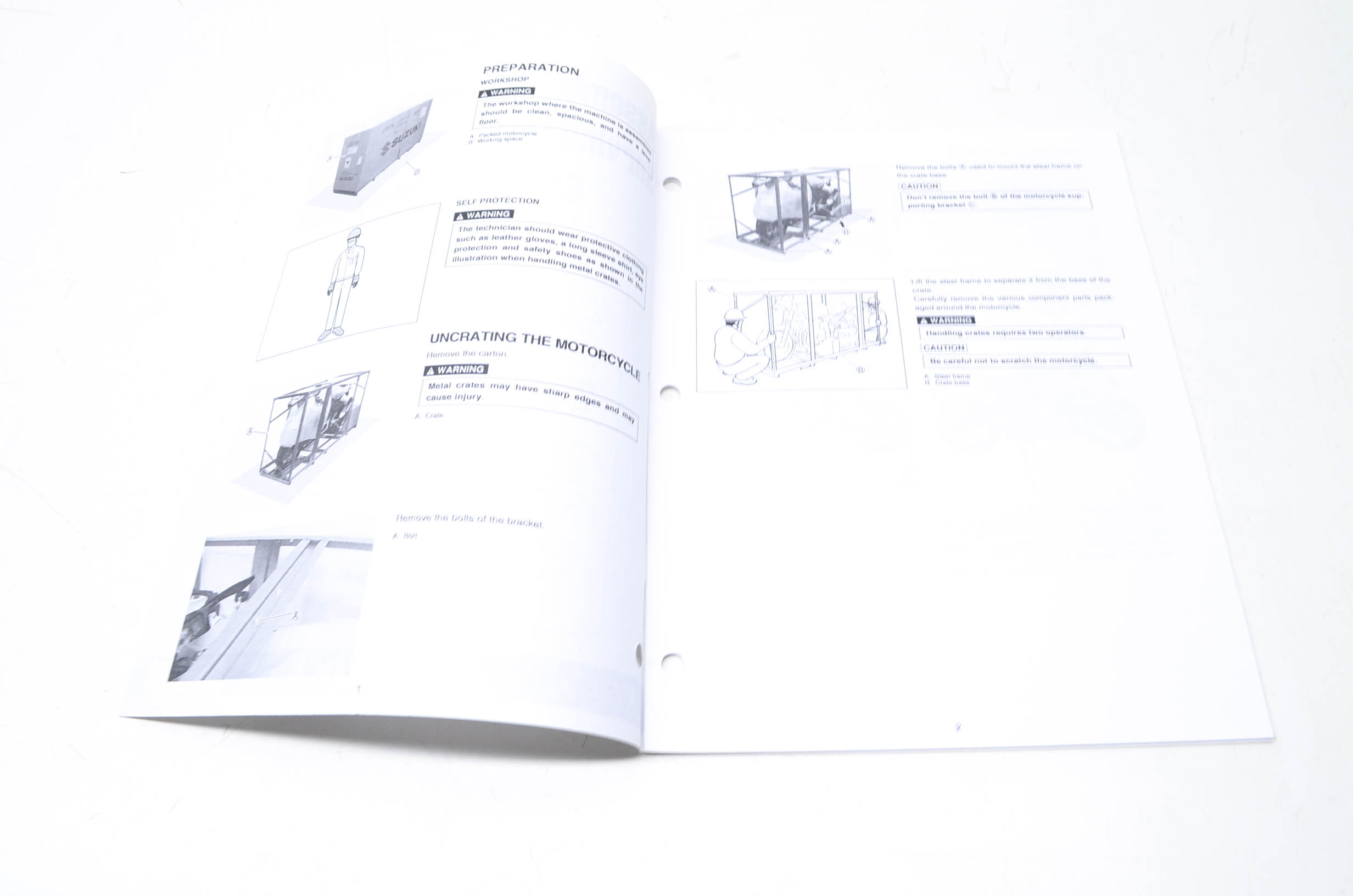 OEM Suzuki 99505-01077-03E GSX-R1000K7 S/U Service Manual