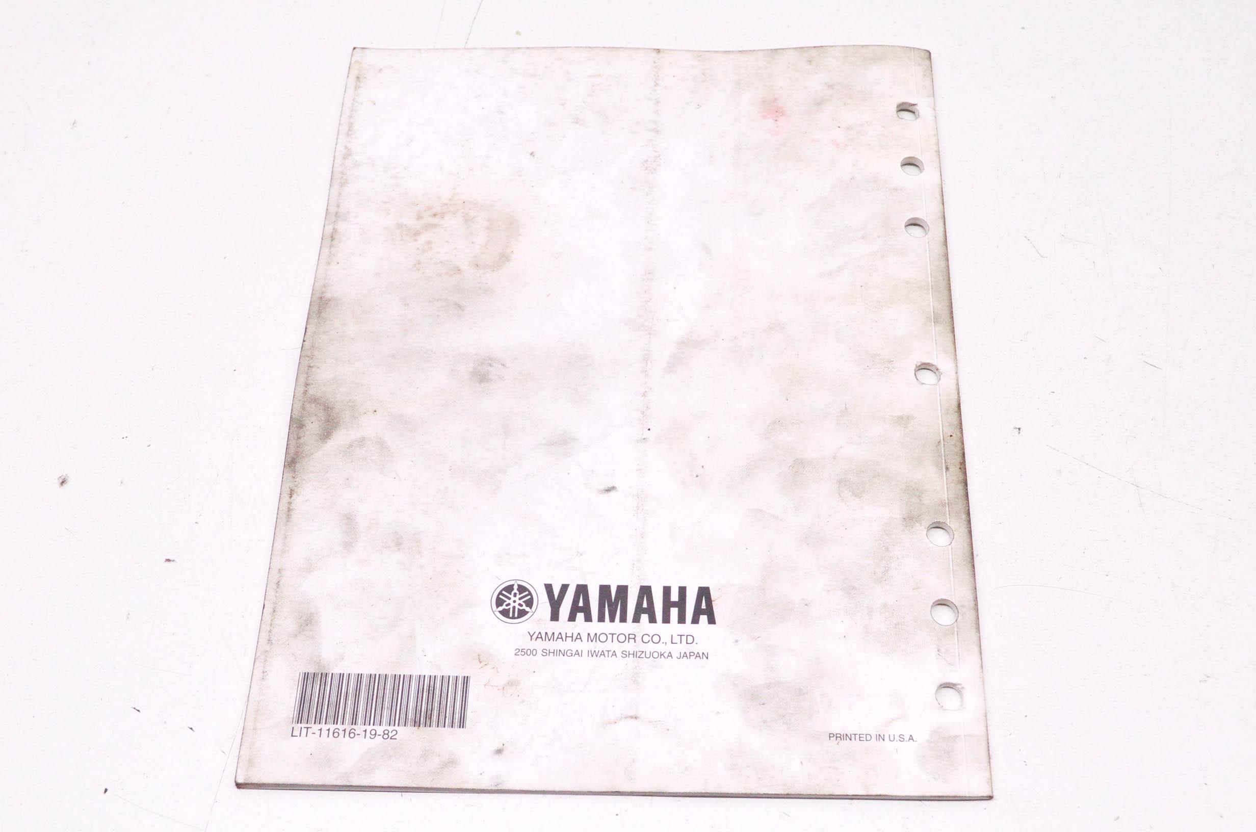 OEM Yamaha LIT-11616-19-82 XVS11AWV/ATV/1100ASC Service
