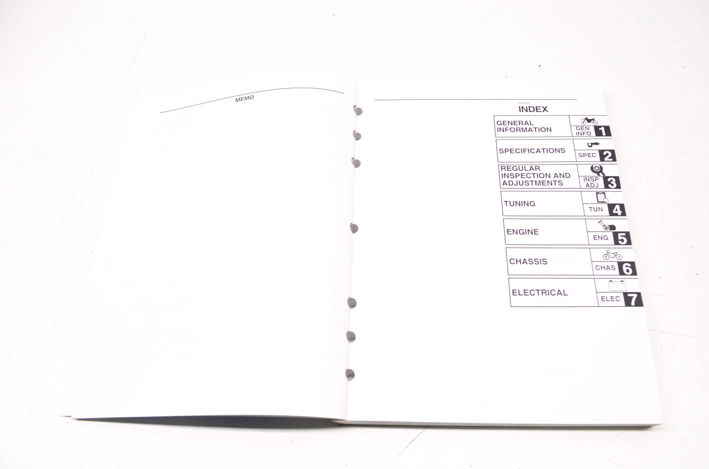 OEM Yamaha LIT-11626-18-49 WR450FT Owner's Service Manual