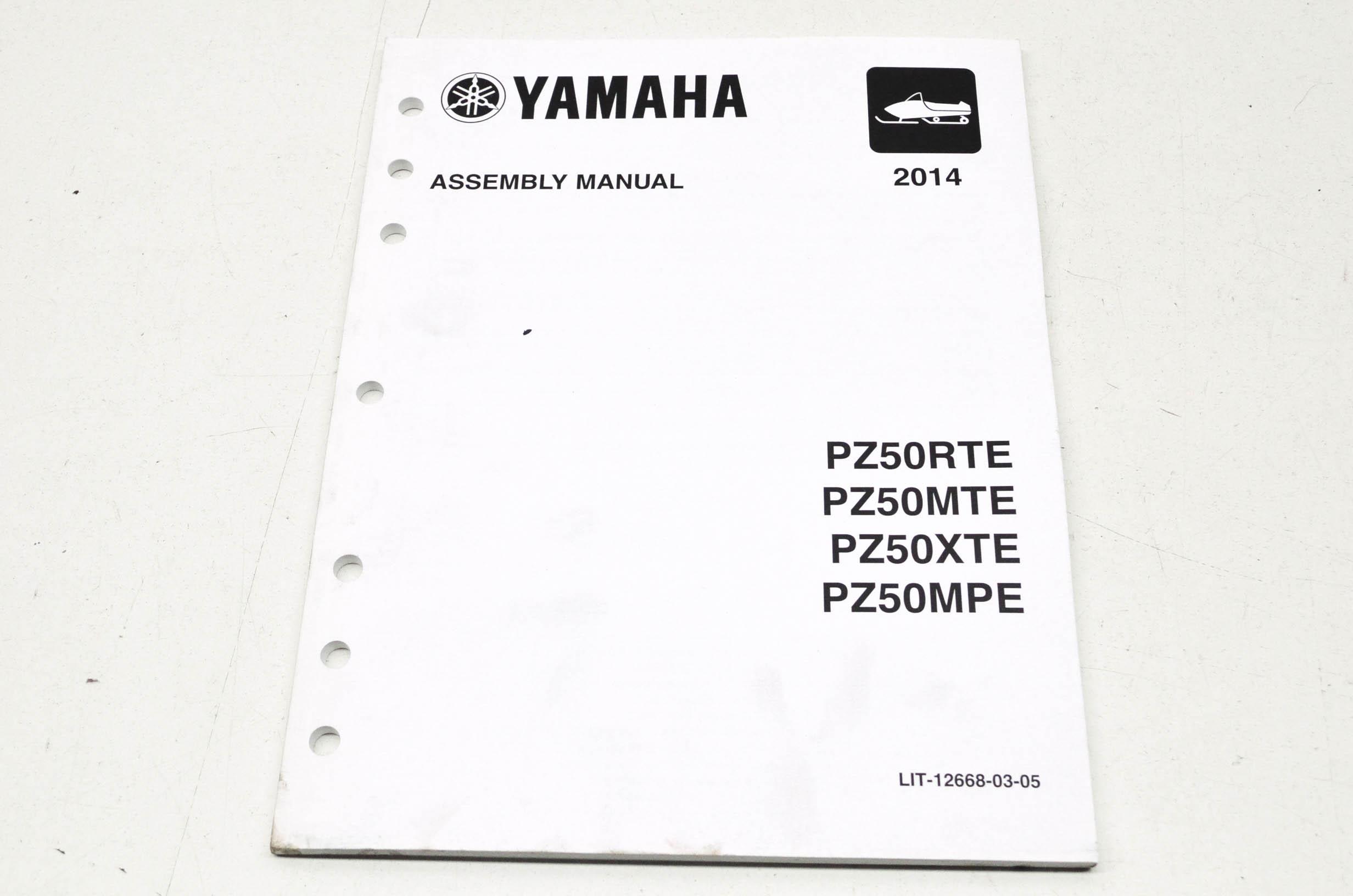 OEM Yamaha LIT-12668-03-05 PZ50RT/ MTX/XTE/MPE Service