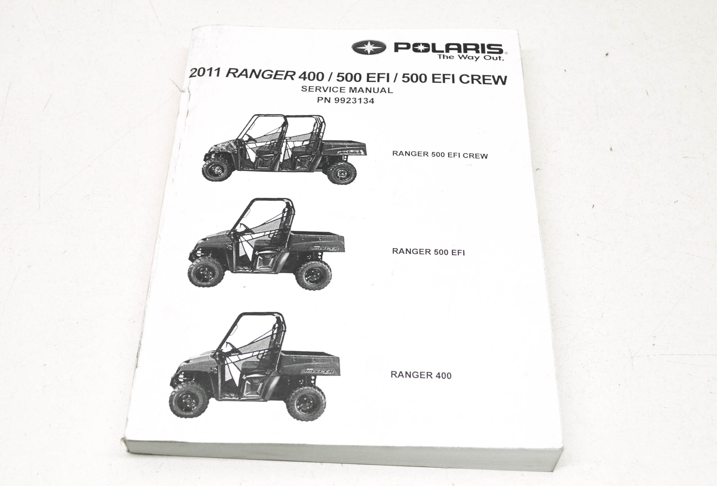 OEM Polaris 9923134 Service Manual 12 Ranger 400/500 4X4