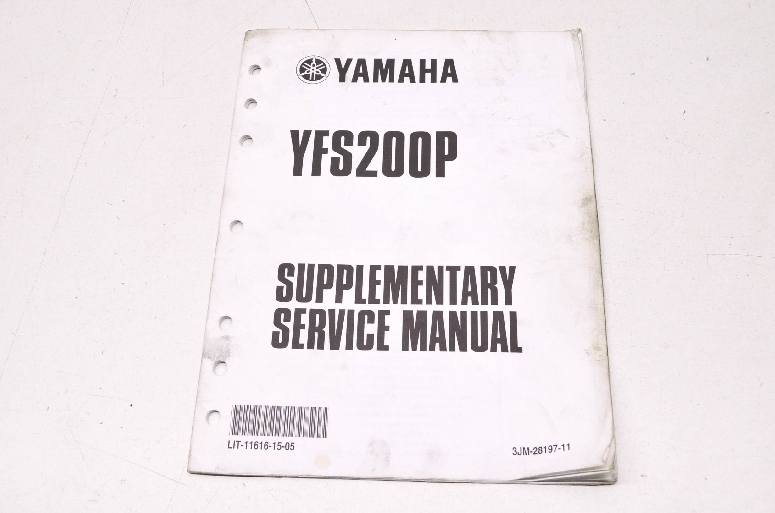 OEM Yamaha LIT-11616-15-05 YFS200P-S Service Manual