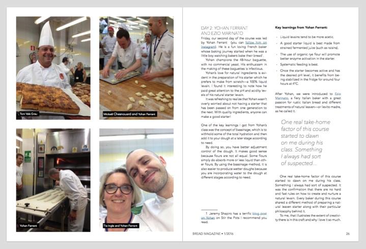 Learning Artisan Baking in Barcelona
