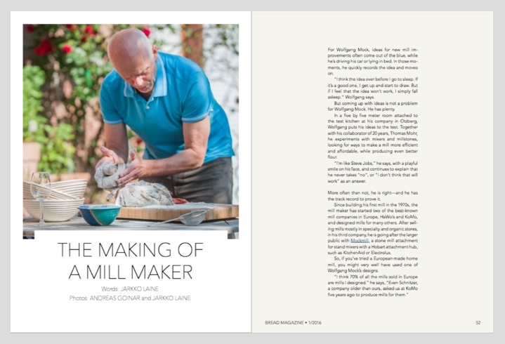 The Making of a Mill Maker